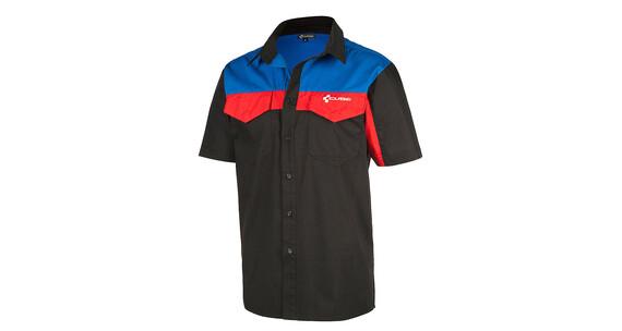 Cube Arbetsskjorta T-Shirt Herr korta ärmar svart